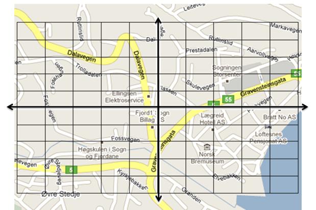 koordinatsystem kart Undervisningstips: koordinatsystem og nærmiljø – Eva 2.0 koordinatsystem kart
